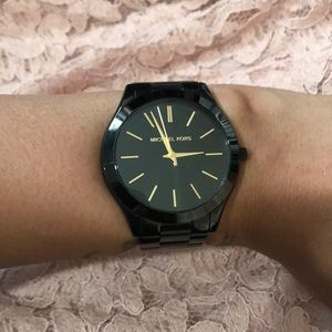 Micheal Kors Black watch